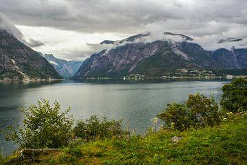 Fjord Noorwegen van Remco de Zwijger