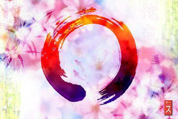 Zen cirkel Enso Wabi-sabi van Kees-Jan Pieper