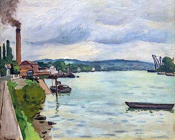Die Seine (um Rouen), Albert Marquet, 1942