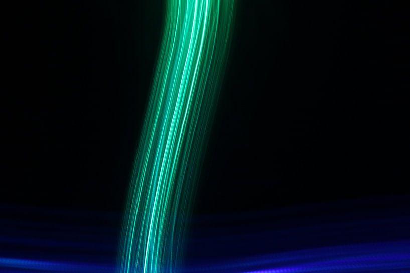 Lichtlijnen van Sander de Jong