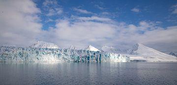 Gletsjer Lilliehook Spitsbergen sur Marieke Funke