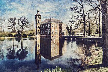Kasteel Bouvigne in Breda (schilderij) van