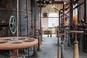 verlassene Industrie