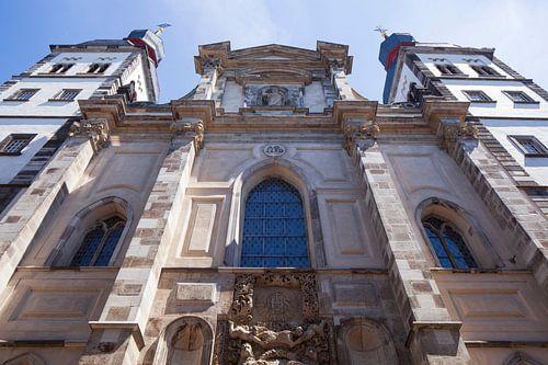 Bonngasse, Bisschopskerk Namen-Jesu-Kirche, Bonn, Noordrijn-Westfalen, Duitsland, Europa