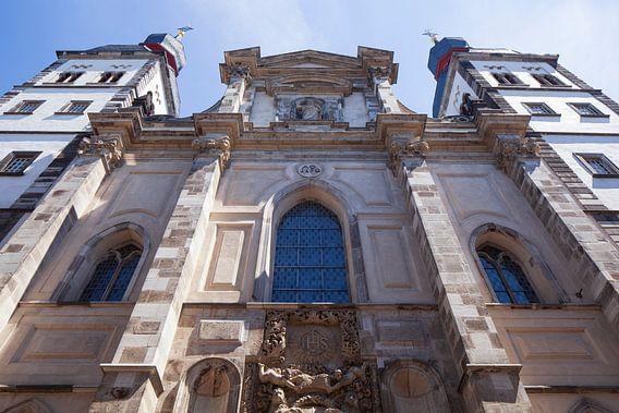 Bonngasse, église épiscopale Namen-Jesu-Kirche, Bonn, Rhénanie-du-Nord-Westphalie, Allemagne, Europe