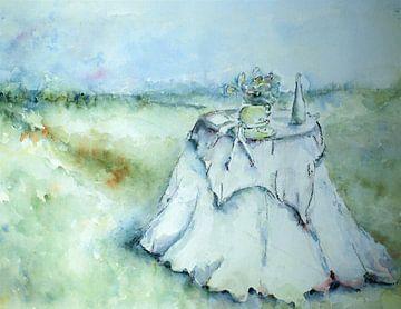 Zomerse picknick. van Ineke de Rijk