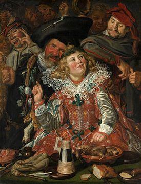 Partygänger in der Fastenzeit, Frans Hals - 1623