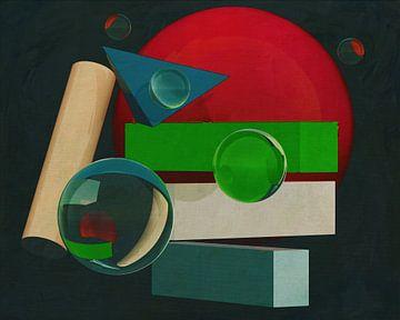 Constructivisme schilderij nummer 19