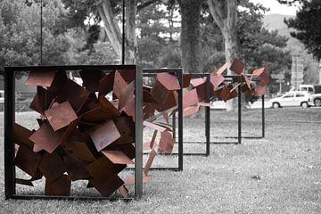 Kunstwerk in Vaison la Romaine. von Pepijn van der Putten