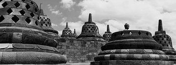 Borobudurs Nirwana von Jaap van Lenthe