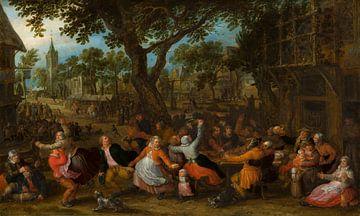 Bauernmesse, David Vinckboons