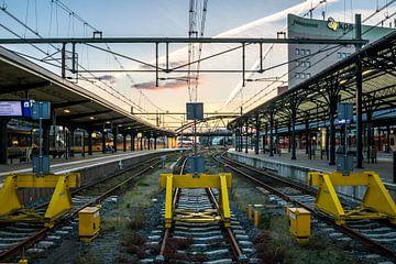 Station Groningen, Eindstation (kleur) van Klaske Kuperus