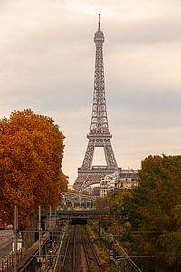 Frankrijk Eifeltoren in de herfst