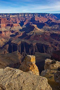 Vue du Grand Canyon (États-Unis) sur Eva Rusman