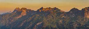 Sunrise, Allgäu Alps van