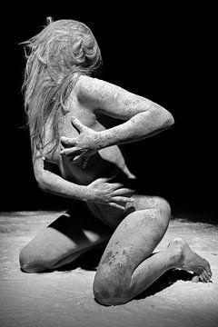 Nackte Frau unter dem Stoff #0846 von william langeveld
