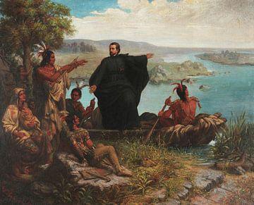 Pere Marquette und die Indianer, Wilhelm Lamprecht