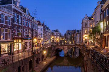 Vismarkt Oudegracht en Maartensbrug, Utrecht van André Russcher