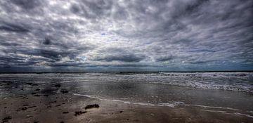 Nederlandse kust in HDR / Dutch coast in HDR van Erwin Zwaan