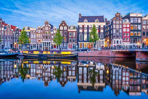 Gracht het Singel te Amsterdam