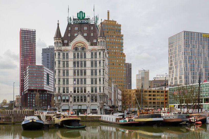 Het Witte Huis en de Oude Haven in Rotterdam. van Don Fonzarelli