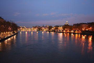 Uitzicht over de Seine van Anouk Davidse