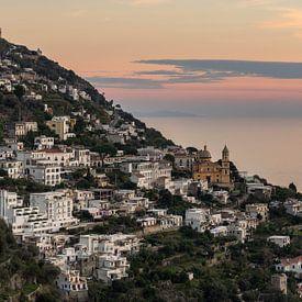 Praiano - Amalfi Kust  van Teun Ruijters
