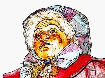 der Clown von Dagmar Marina