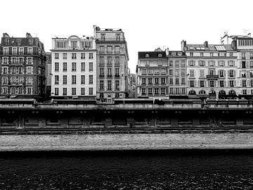 Straßenbild Paris von Liv Jongman