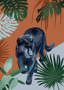 La Panthère noire sur Goed Blauw