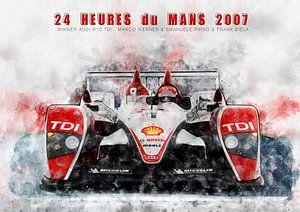 Le Mans winnaar 2007 van Theodor Decker