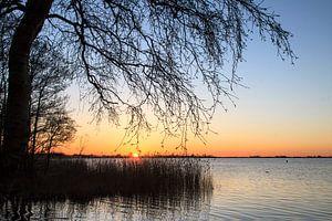 Kleurige zonsondergang