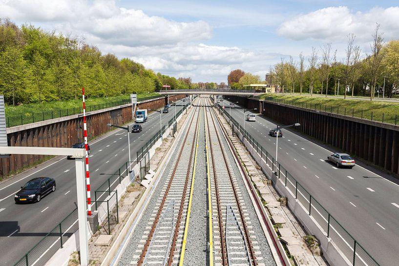 Noord-Zuid lijn Amsterdam Noord van Jaap Mulder