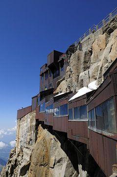 Endstation Montblanc/Aiguille du Midi, Frankreich von Yvette Stevens