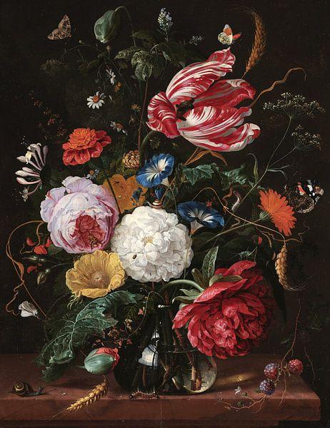 Blumenarrangement, Jan Davidsz. de Heem von Meesterlijcke Meesters