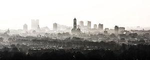 De Domtoren waakt over Utrecht (zonder bouwkranen) van