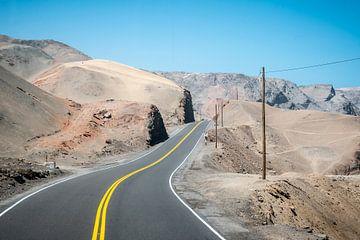Weg door de woestijn van Eerensfotografie Renate Eerens