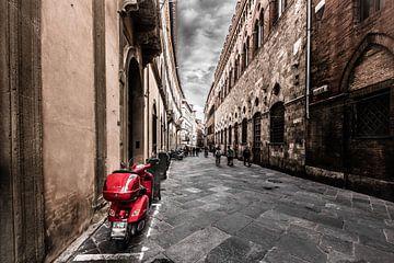In de straten van Siena van Denis Feiner