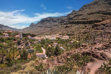 Bergdorf Gran Canaria von Sabine Wagner