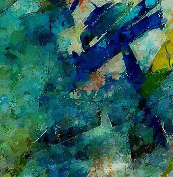 blauw fluweel van Kay Weber