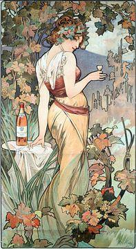 Cognac-Bisquit - Alphonse Mucha