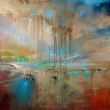 Gouden regen van Annette Schmucker