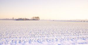 Winterlandschap Nederland van Visiting The Dutch Countryside
