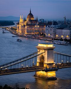 Soirée à Budapest sur Jeroen Linnenkamp