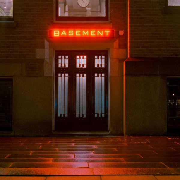 Basement, Hotel NY, Rotterdam van Vincent van Kooten
