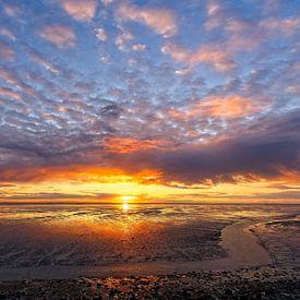 Schiere sunset van Arthur de Groot
