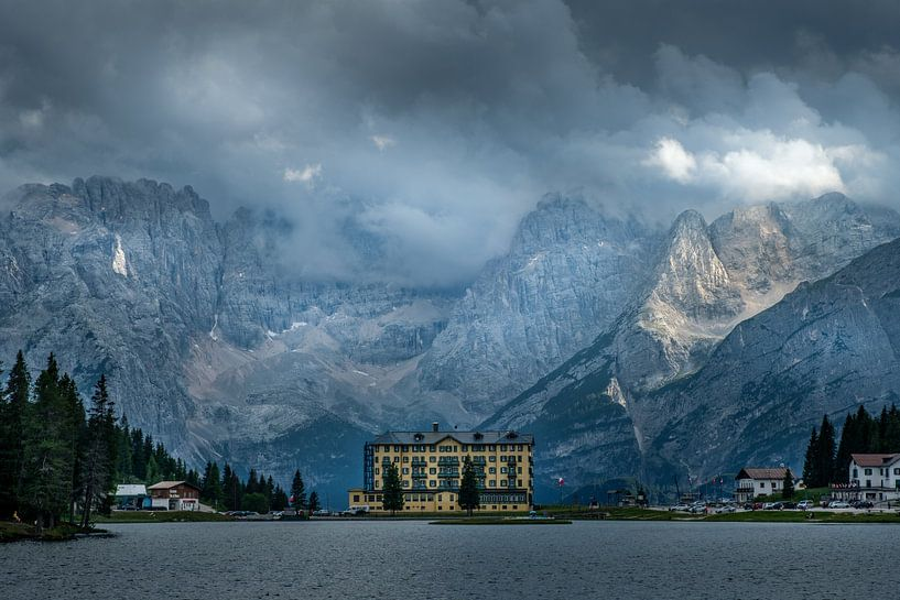 Grand Hotel Misurina van Mario Visser