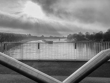 De Hoge Brug in Maastricht von John Kreukniet
