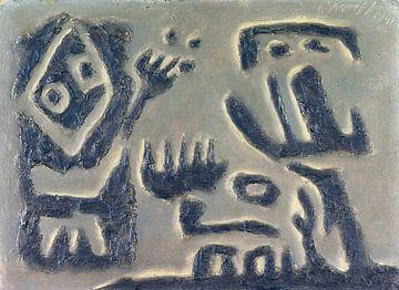 Dialog (Gilgamesch-Thema), WILLI BAUMEISTER, 1946