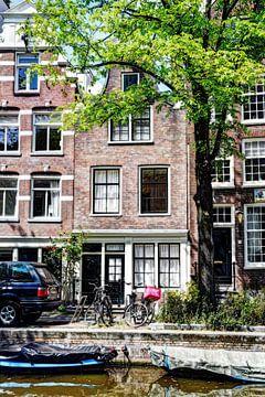 Nummer 2 Egelantiersgracht 54 Huis Color Artistic sur Hendrik-Jan Kornelis